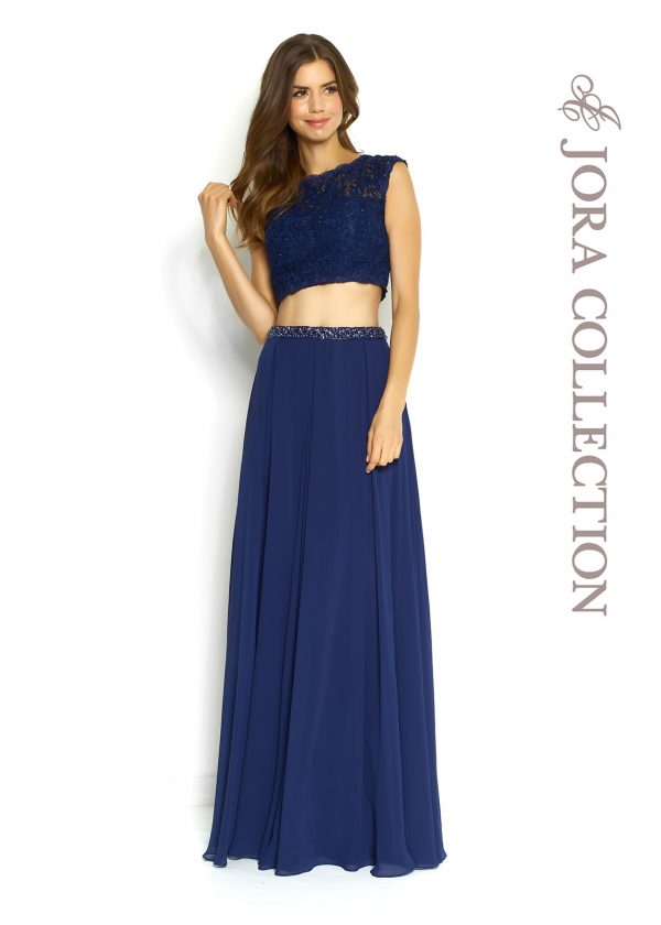 TWO PIECE PROM GOWN