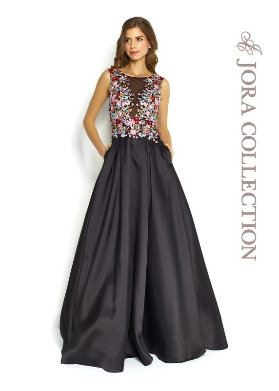 satin prom dress