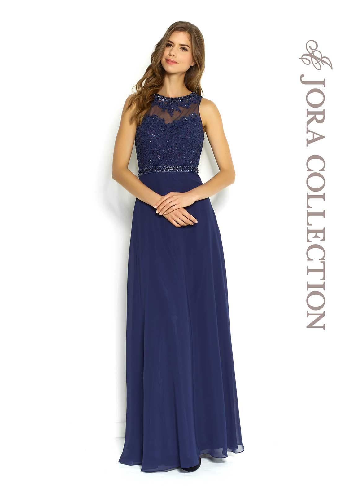 Long formal prom dress